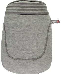 Close Caboo Steel Marl Stripe Bag