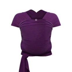 Purple bamboo stretchy wrap
