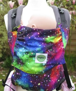 Rainbow coloured galaxy of stars - Kahubaby Sunshine Rainbow Galaxy