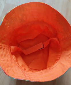 Inside of Floral sun hat