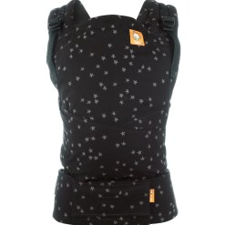 Discover colourway Tula Half Buckle black with grey stars