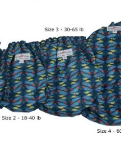 Nappy size guide from size 1 to 4