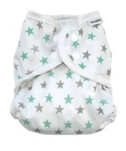 Muslinz Green Star Size 1 Wrap