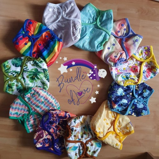 Circle of Little Lovebum Everyday nappies!