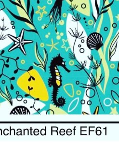 Bells Bumz Enchanted Reef BTP nappy print