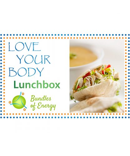 Love Your Body Lunchbox Cookbook