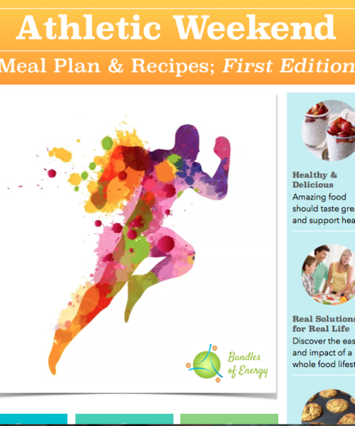 Athletic Weekend; Meal Plan & Recipes (First edition)
