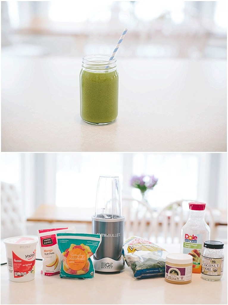 My Formula For the Perfect Green Smoothie