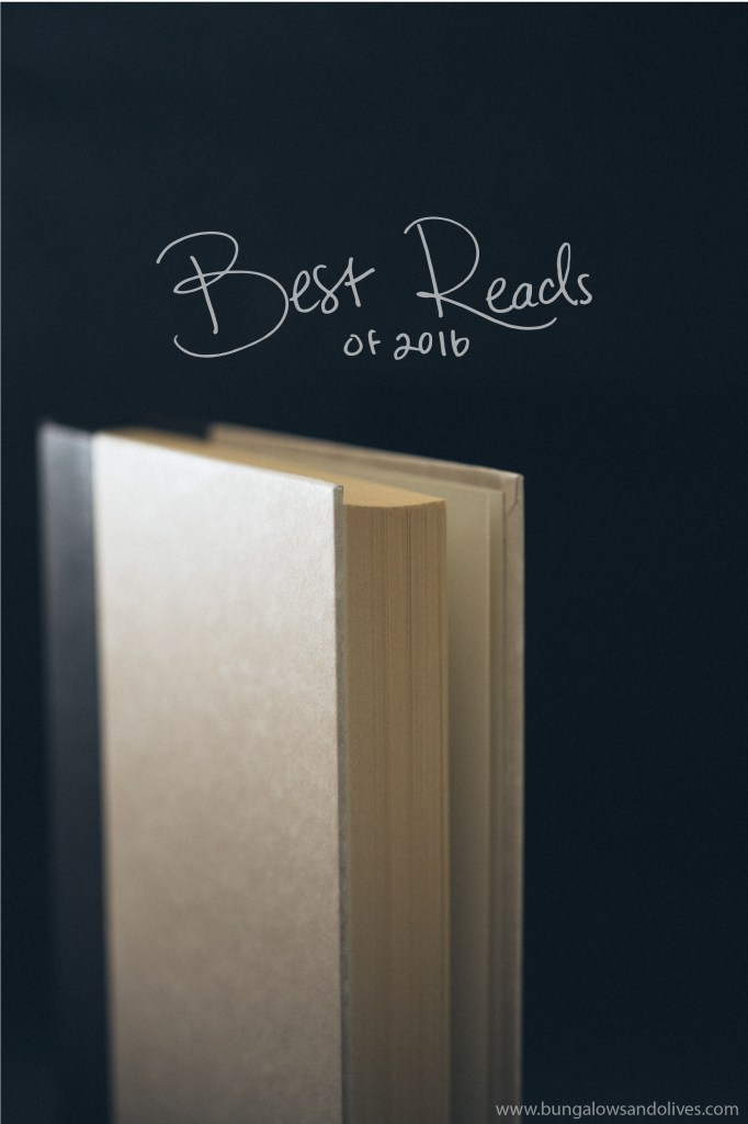 My favorite reads from 2016…