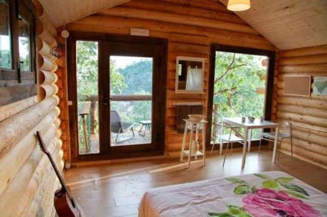 log cabin spain