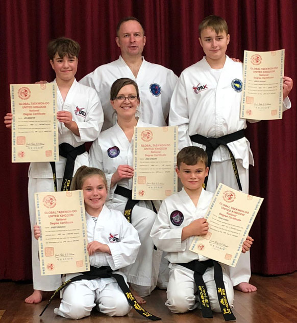 Brand New Bungay Black Belts