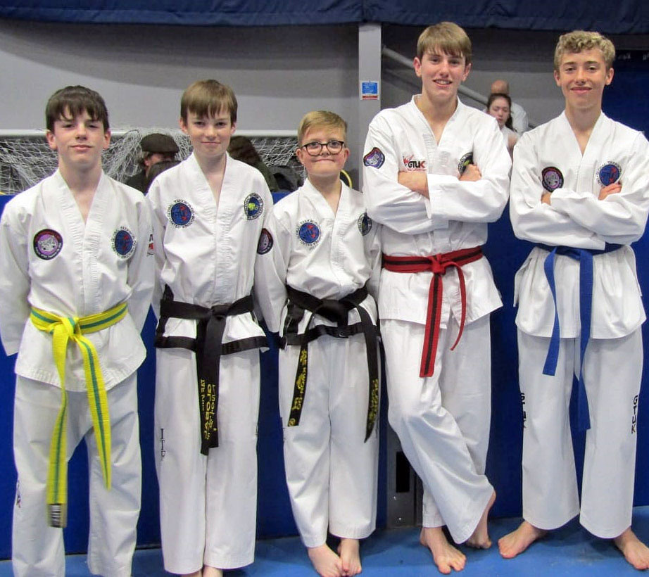 Learn the martial art of Taekwondo at Bungay TaeKwonDo Club