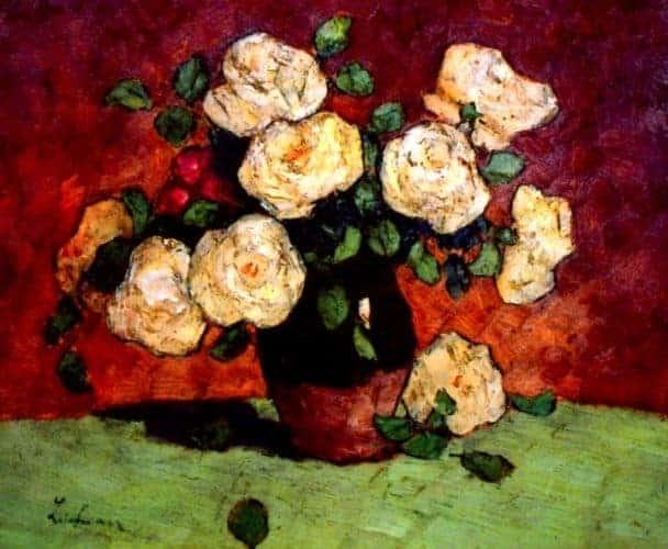 4 - Trandafiri-albi-alt-tablou