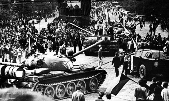 1968 Invadarea Cehoslovaciei