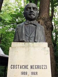 1868 Costache Negruzzi (1808-1868). Bust De Ion Mateescu