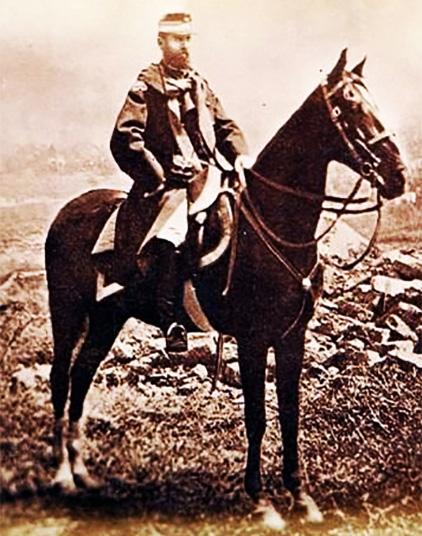 1877 Regele Carol I. Fotografie De Carol Popp De Szathmári