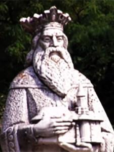 1404 Alexandru Cel Bun. Statuie La Mân. Bistrița