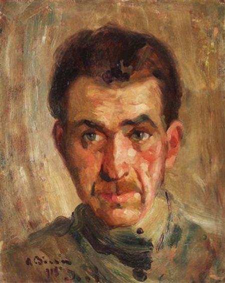 The Portrait of Pinter Gheorghe Chirovici