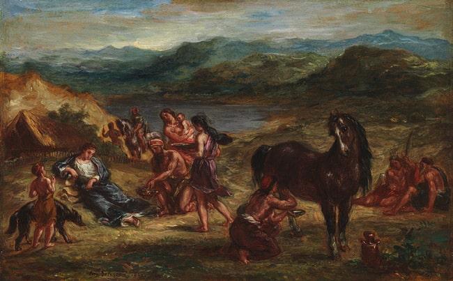 Ovid among the Scythians, 1862