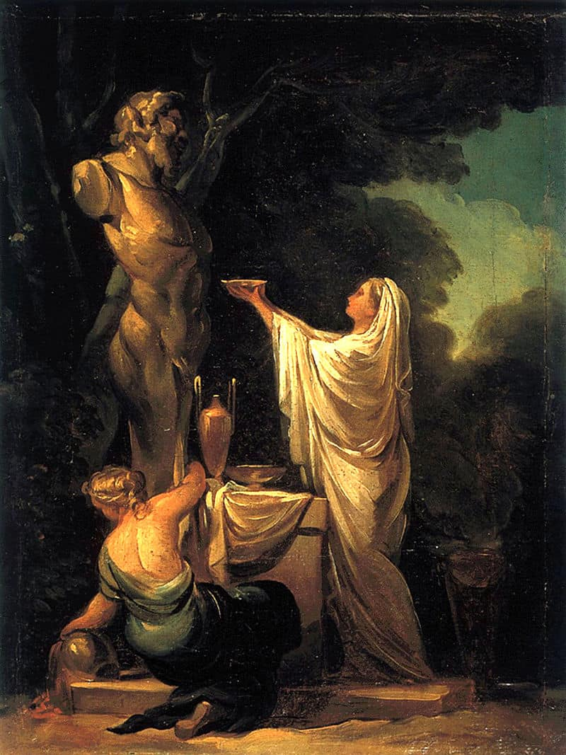 Sacrifice to Pan, 1771