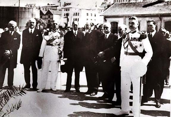1935 Repatrierea rămășițelor pământești Dimitrie Cantemir