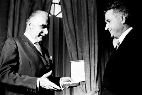 1970 Nicolae Ceaușescu în Franța