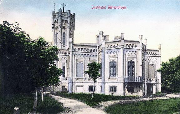 1884 Institutul Meteorologic