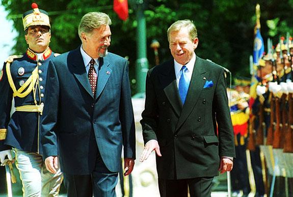 1994 Václav Havel în România