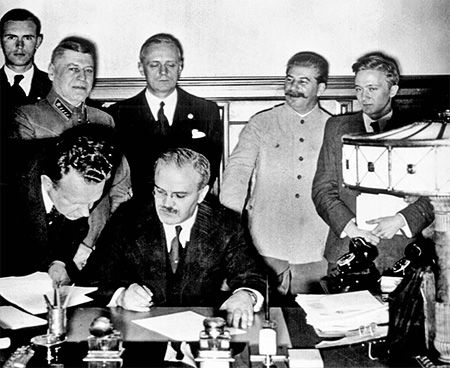 1991 Semnarea Pactului Ribbentrop-Molotov, 1939