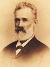 1881 Dimitrie C. Brătianu. Fotografie de Franz Mandy
