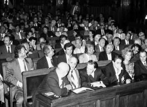 1990 Prima sesiune a Senatului