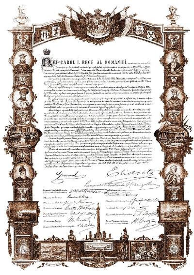 1866 Decretul de aprobare a Constituției