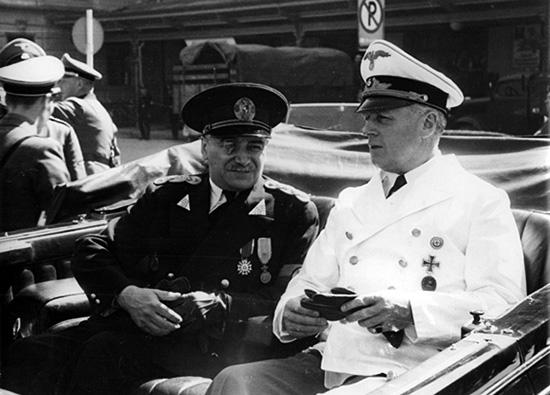 1940 Ion Gigurtu și Joachim von Ribbentrop, Salzburg