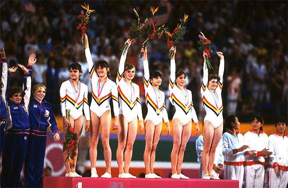 1984 Echipa De Gimnastică Feminină A României, Los Angeles 1984
