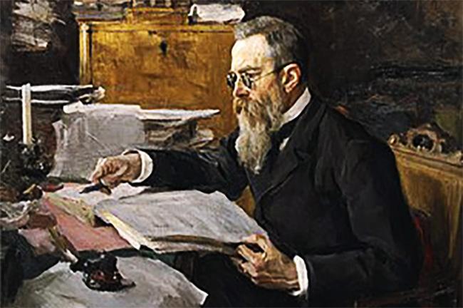 18 - Nikolai-Rimsky-Korsakov-1844-1908.-Portrait-by-Valentin-Serov