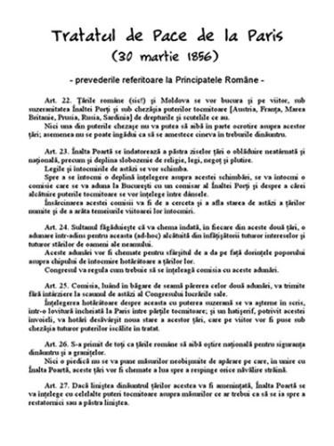 Tratatul de pace de la Paris (Tratatul de pace de la Paris)