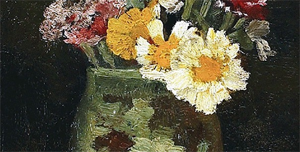 Small Pitcher with Wild Flowers - detail