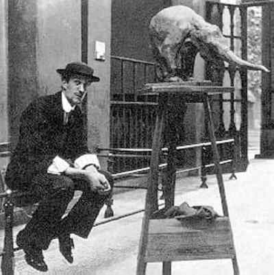 Rembrandt Bugatti At The Zoo In Antwerp, 1910