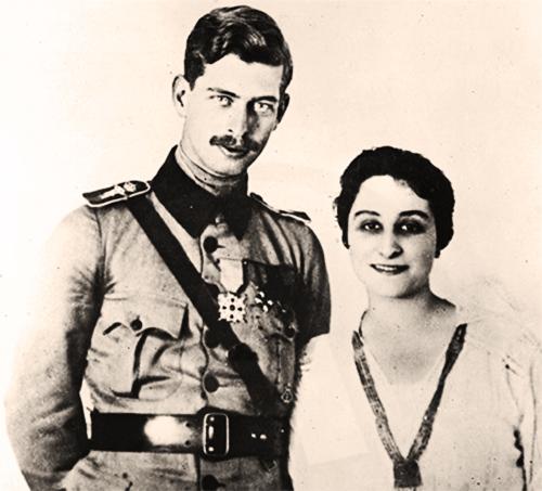 1918 Carol Al Ii-lea și Zizi Lambrino