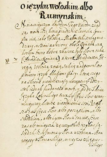 1677b Cronica Ţărilor Moldovei şi A Munteniei -pagină