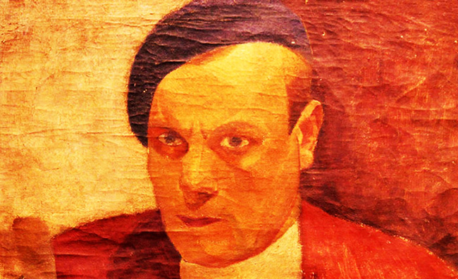 Alexandru Ciucurencu (1903-1977). Autoportret -detaliu-21