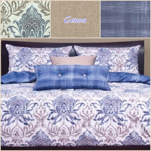 Baroque Bedding Genoa Polyester Bed Cap Comforter Set