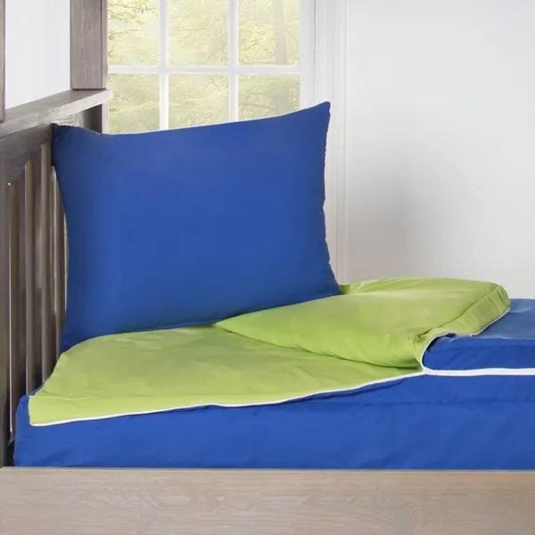 Solid Color Zipper Bedding Crayola Berry Blue Bunkie