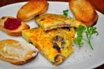 Ham and Cheese Frittata