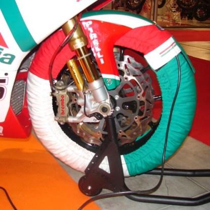 irc tyre warmer Pro tricolore