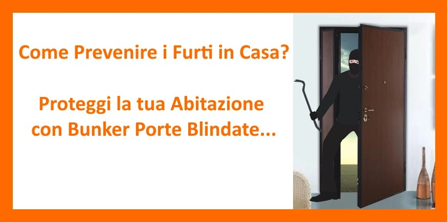 come prevenire i furti in casa