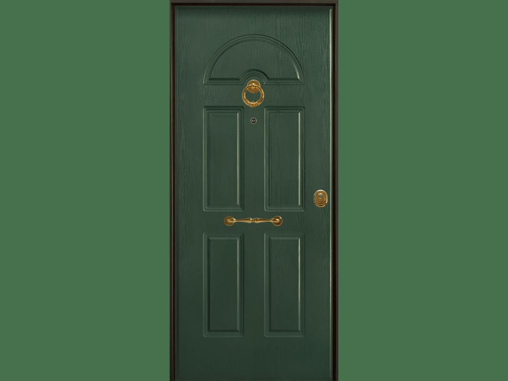 porta blindata con pannello zar acciaio pvc