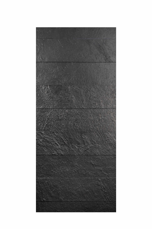 Pannello in fusione alluminio Saturno colore nero