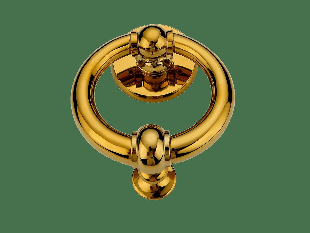 anello a battente ottone pvd