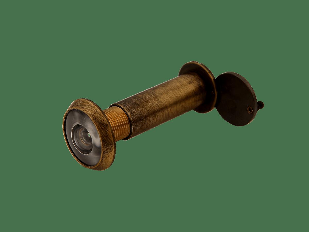 spioncino grandangolare classico bronzato